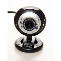 Webcam Frete Grátis 2 Mp 1600x1200 Usb 2.0 6 Leds Noturna