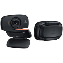 Webcam Usb Logitech Hd 720p C525 - Foto 8mp C/ Microfone Top