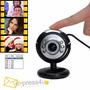 Web Cam Hd Nigth Vision 6 Led Senso 30 Mega Pixels 2560x2048