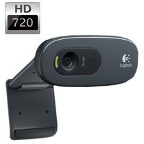 Webcam Logitech C270 Hd 1280x720p 30 Fps C/ Microfone + Nf