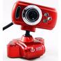 Webcam 16 Mp Usb C/ Mic E Led Noturno C/ Giro De 360 Graus