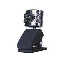 Webcam 30fps 640x480 Microfone Embutido Visão Noturna 6 Leds