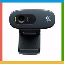 Webcam C270 Logitech Hd 720p Pc/notebook/mac/window