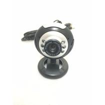Webcam 16 Mega Pixel Com Microfone Usb Alta Definição Noturn
