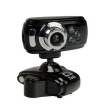 Webcam 30mp 30000k C/ Led + Microfone Alta Definição Usb Msn
