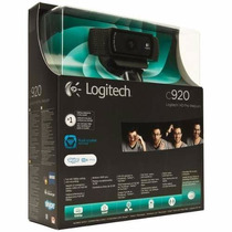 Câmera Webcam C920 Logitech Hd 1800p Pc/notebook/mac/window