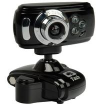 Webcam 16mp C3tech Alta Definição Com Microfone Wb2105
