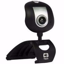 Webcam 30mp + Microfone Embutido Alta Definição Usb Msn