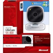 Webcam Lifecam Microsoft Vx-800 C/microfone Embutido