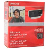 Webcam Microsoft Lifecam Vx-500 Usb Nova Lacrada