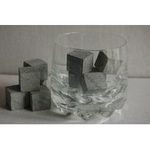 Cubos De Gelo Em Pedra Sabao - Gelar Whisky Vinho Cachaça