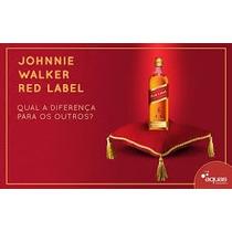 Whisky Red Label 8 Anos Frete Grátis Caixa Com 12 Litros