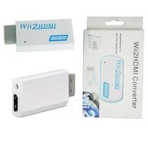 Hdmi Para Wii - 720p/1080p + Conversor Adaptador 3,5