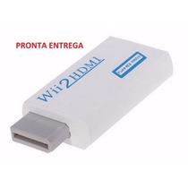 Wii2hdmi - Adaptador Conversor Nintendo Wii Para Hdmi 1080p