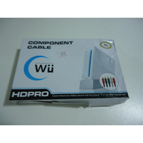 Cabo Wii Component Av Cable (6ft) - Cod. 25