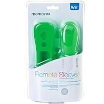 Silicone Proteção Verde Wii Remote E Nunchuk Marca Memorex