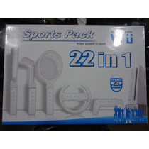 Kit Sports Pack 22 In 1 Nintendo Wii