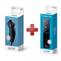 Wii U Remote Plus + Nunchuck Wii U Nintendo Original Lacrado