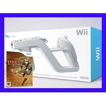 Pistola Wii Zapper Original Nintendo Wii + Jogo!