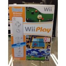 Wii Remote Original + Jogo Brinde Nintendo Wii Wii U Lacrado
