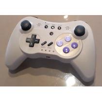 Controle Wii U Sem Fio Estilo Snes Original