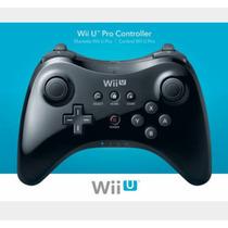 Controle Wii U Wireless - Pro Controller - Preto - Original