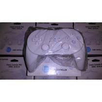 Controle Clássico Classic Nintendo Wii Na Caixa Novo
