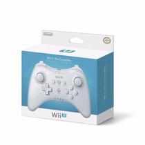 Controle Para Nintendo Wii U Pro Branco Original Novo