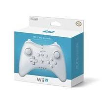 Wii U Pro Controle Branco 100% Original