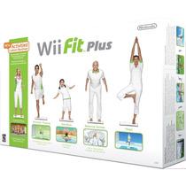 Wii Fit Plus - Wii - Novo - Jogo + Balance Board - Original