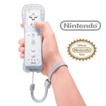 Controle Nintendo Wii Remote 100% Original + Capa D Silicone