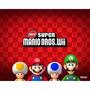 Manual Instruções Do Jogo New Super Mario Bros Wii Semi Novo