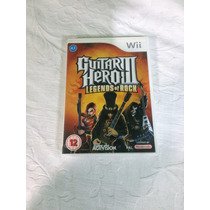 Guita Hero 3 Nintendo Wii Original Jogo ( Sistema Pal-m )