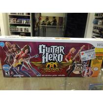 Guitar Hero Aerosmith Novo Completo Nintendo Wii Wii U