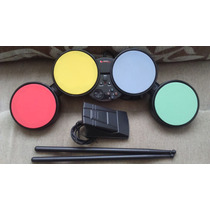 Mini Bateria Rock Band Ps2/ps3/wii Leadership Excl Estado .
