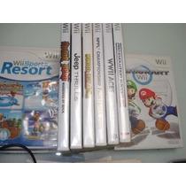 Kit: 16 Jogos Originais Para Consoles Nintendo Wii + Wii U.