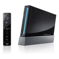 Wii Black + Acessórios + 1 Controle + 2jogos