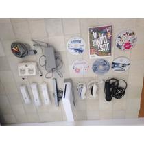 Wii Nintendo + Acessórios + 6 Jogos
