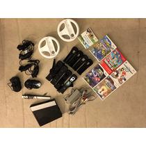 Nintendo Wii + Combo De Acessórios + Jogos - Com Garantia