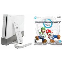Nintendo Wii Destravado + 4 Controles + 250 Jogos