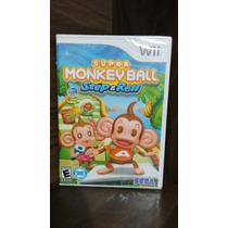 Super Monkey Ball Step E Roll Para Wui Ou Wui U