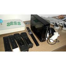 Nintendo Wii Destravado - Kit Completo - Opções De Jogos