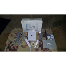 Nintendo Wii Na Caixa Destravado+ Jogo Original Funcionando