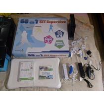Nintendo Wii Destravado + Wii Balance Board + Acessórios