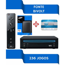 Nintendo Wi Hd 500gb 236 Jogos Bivolt Desbloqueado