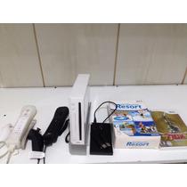 Nintendo Wii Desbloqueado Hd Com 15 Jogos + Zelda Brinde