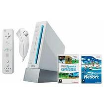 Nintendo Wii Branco - Console + Jogo Wii Sports