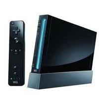 Nintendo Wii Black Novo Sem Caixa Com Garantia