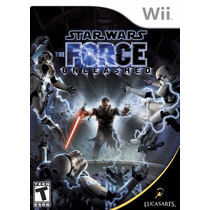 Wii - Star Wars Force Unleashed - Original