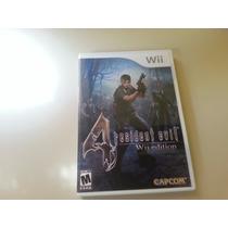 Jogo Resident Evil 4 Wii E Wii U - Original - Americano